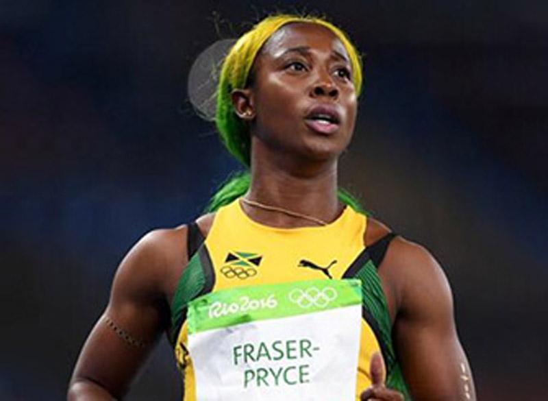 Shelly Ann Fraser-Pryce, Sprinterin, wird vom physiokey von Keytec unterstützt