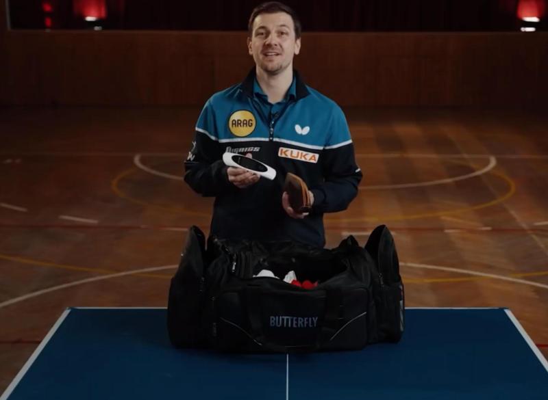 Timo Boll, Tischtennis-Spieler, mit dem physiokey