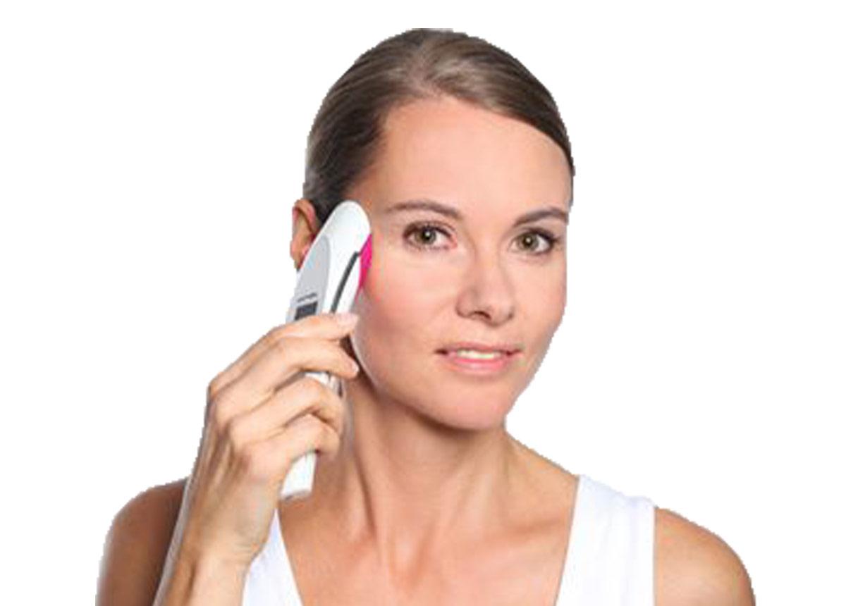 Kosmetische Anwendung mit dermakey